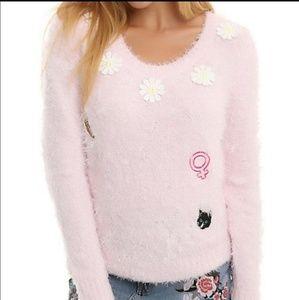 Buffy the vampire Pink Sweater